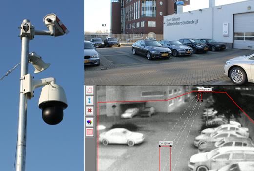 Beveiligingscamera Thermischecamera BMW